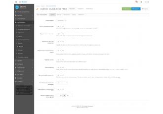 Opencart 2.x - Admin Quick Edit PRO