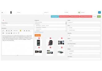 Opencart 2.x - Quick Product Edit (bulk update) Easy Prod. Edit