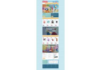 Opencart 2.x - Шаблон развлечений для детей - BALLOONS