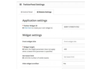Opencart 2.x - TwitterFeed - Display your Twitter feed