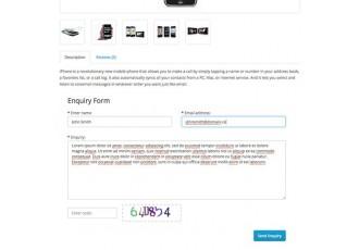 Opencart 2.x - ProductEnquiryForm