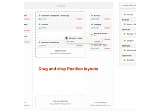 Opencart 2.x - VisualLayouts