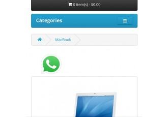 Opencart 2.x - WhatsAppShare - Share Products via WhatsApp