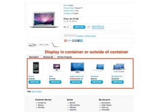 Opencart 2.x - SimilarProducts - Display Similar Products by Tag
