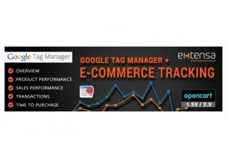 Google Tag Manager + Ecommerce Tracking Pro (opencart 2.x)