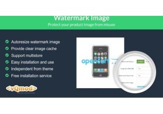 Watermark Image Opencart 1.5-2.x