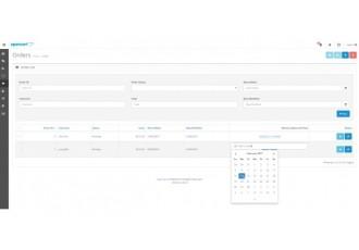 Opencart 2.x - Дата Время Доставки V1.2