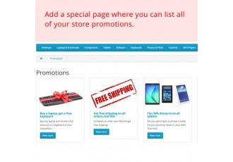Opencart 2.x - Promotions - Market-Proven Promotions