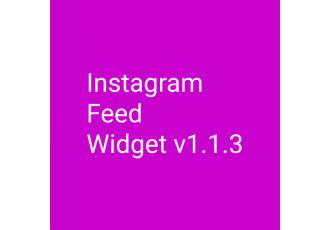 Instagram Feed Widget v1.1.3 Opencart