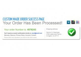 Opencart 2.x - Edit Success Page - Custom Success Page