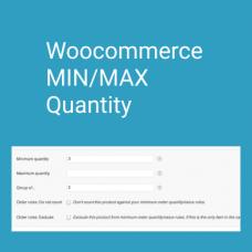 Min/Max Quantities - WooCommerce