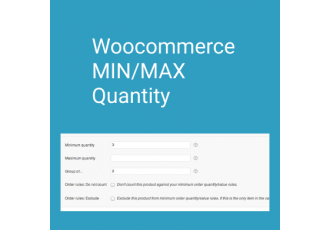 Min/Max Quantities - WooCommerce
