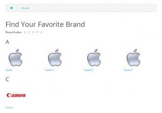 ManufacturerLogo - Show Brands logo on Manufacturers list