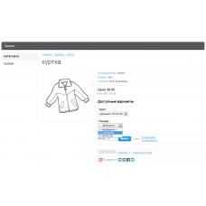 Related options 2 | Связанные опции | Opencart 2.х