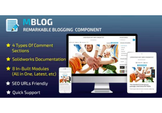 M-Blog Opencart 2.x — 3.x (блог)